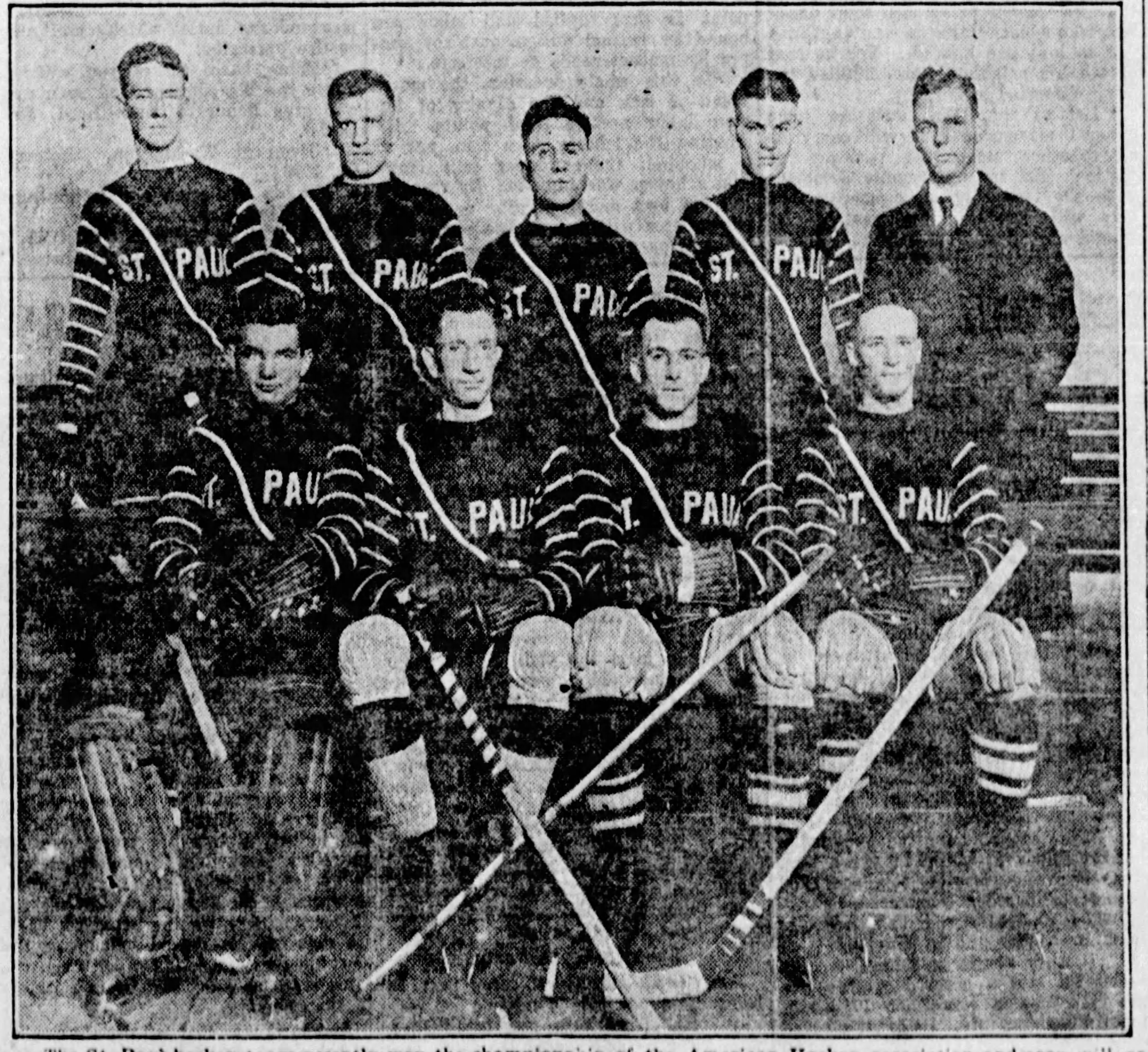 St. Paul Hockey 1920