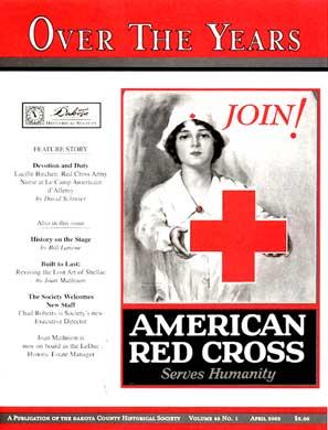 Lucille Birchen: Red Cross Nurse